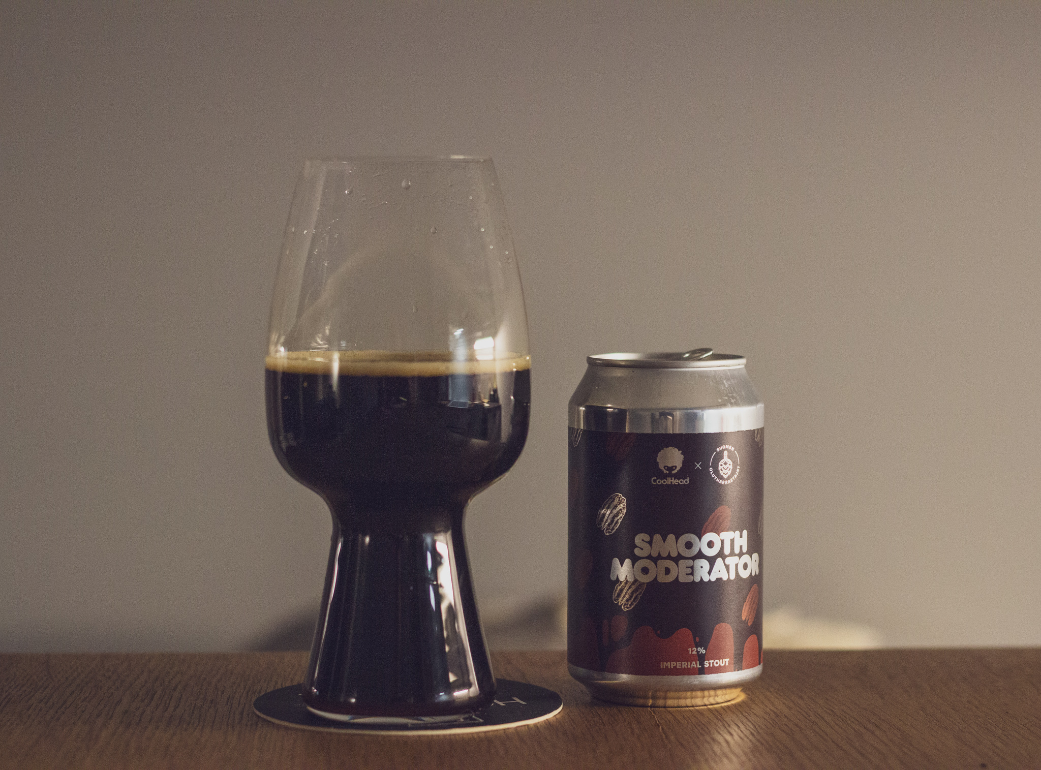 CoolHead Brew (FI) — Smooth Moderator | 12% Imperial Stout with Pecan and Maple Syrup
